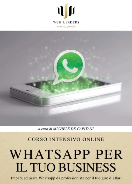 impara ad usare whatsapp per il tuo business